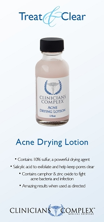 Acne Drying Lotion product sales sheet